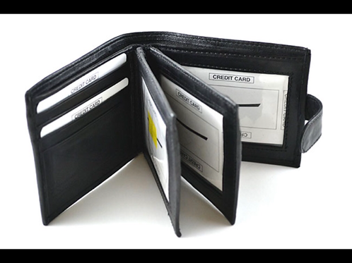 Wallet with Snap Button