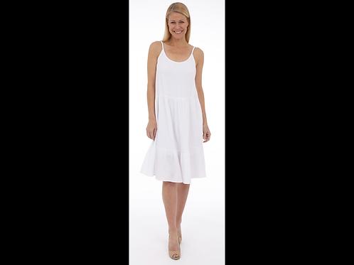 Tiered Bubble Gauze Dress