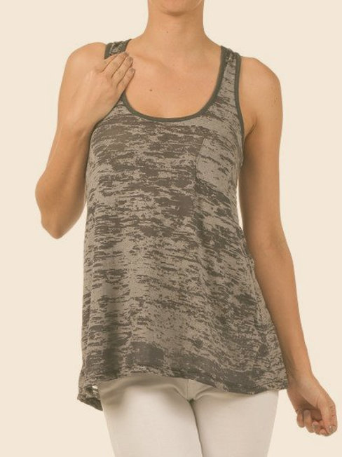 Pretty Young Thing Knotted Racerback Tank