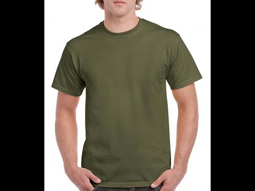 Military green Gildan T-Shirt