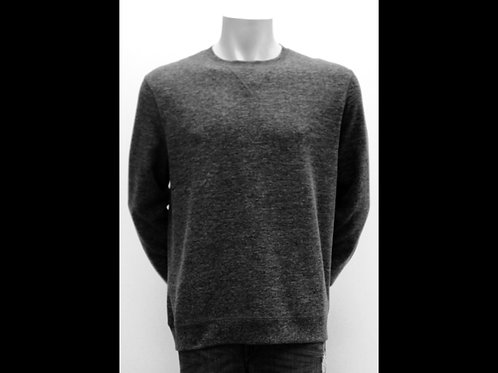 Charcoal Melange Crewneck Sweater