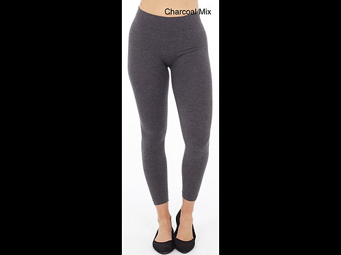 Charcoal Mix Cotton blend - Perfect fit leggings