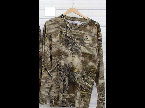 Long Sleeve Camouflage Top