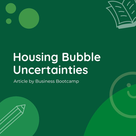 Housing Bubble Uncertainties