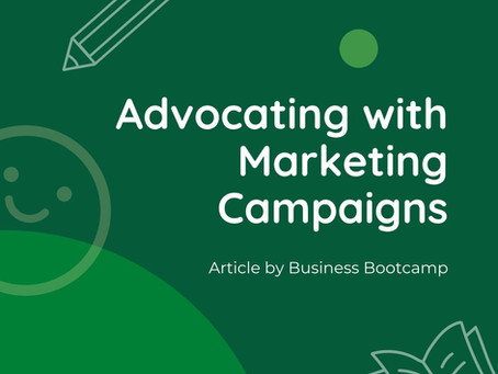 Advocating With Marketing Campaigns