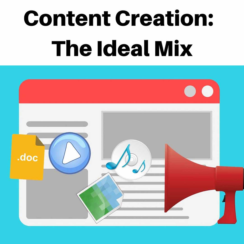Content Creation:  The Ideal Mix