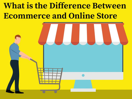 Ecommerce and Online Store - What is the Difference?