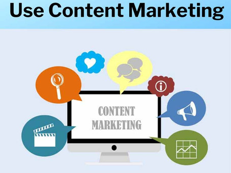5 Reasons Why You Should Use Content Marketing