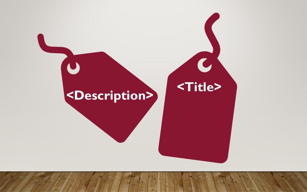 Title Tags Meta Description