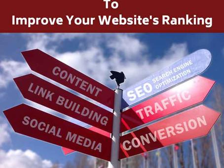 5 Ways To Improve Your Website Ranking