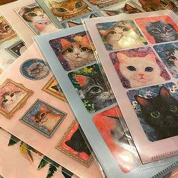 福嶋吾然有さんデザインの猫ちゃんグッズが届きました❤️ あざと可愛い猫ちゃん、ユ