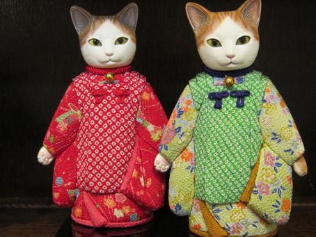 小島美知代さんの猫童子入荷しました!