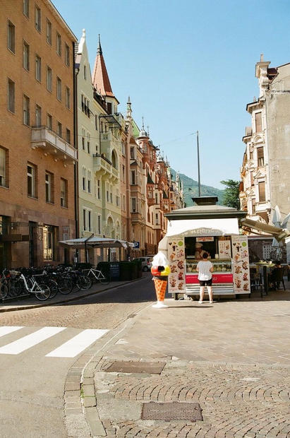 Bolzano Streetscape I