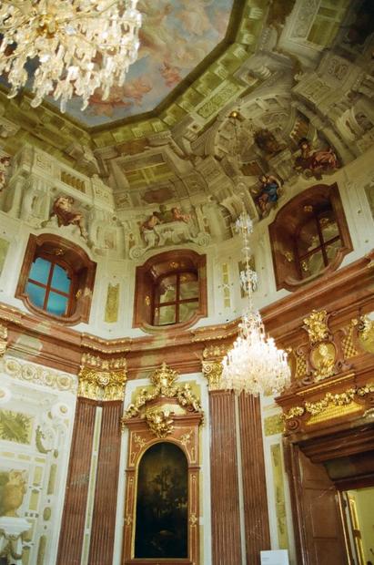 Schonbrunn Palace Interior