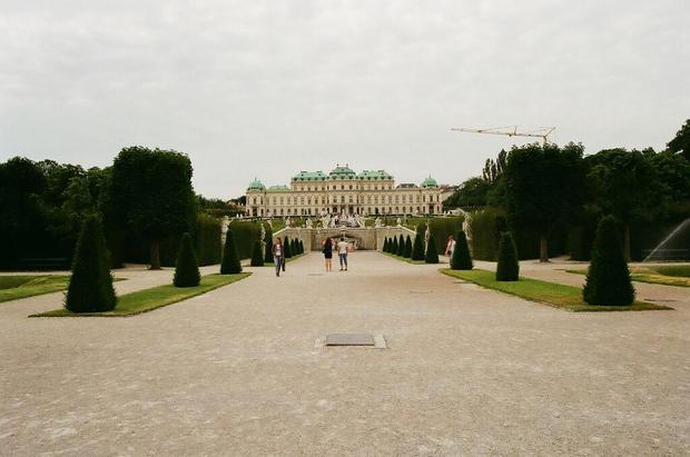 Schonbrunn Palace Portrait