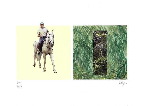 Original Art | Watercolor & Collage