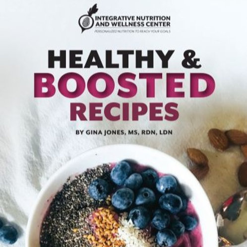 Healthy & Boosted Recipe PDF Book