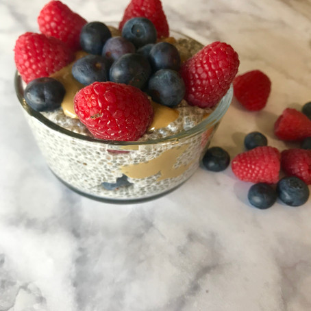 Protein Packed Chia Seed Pudding