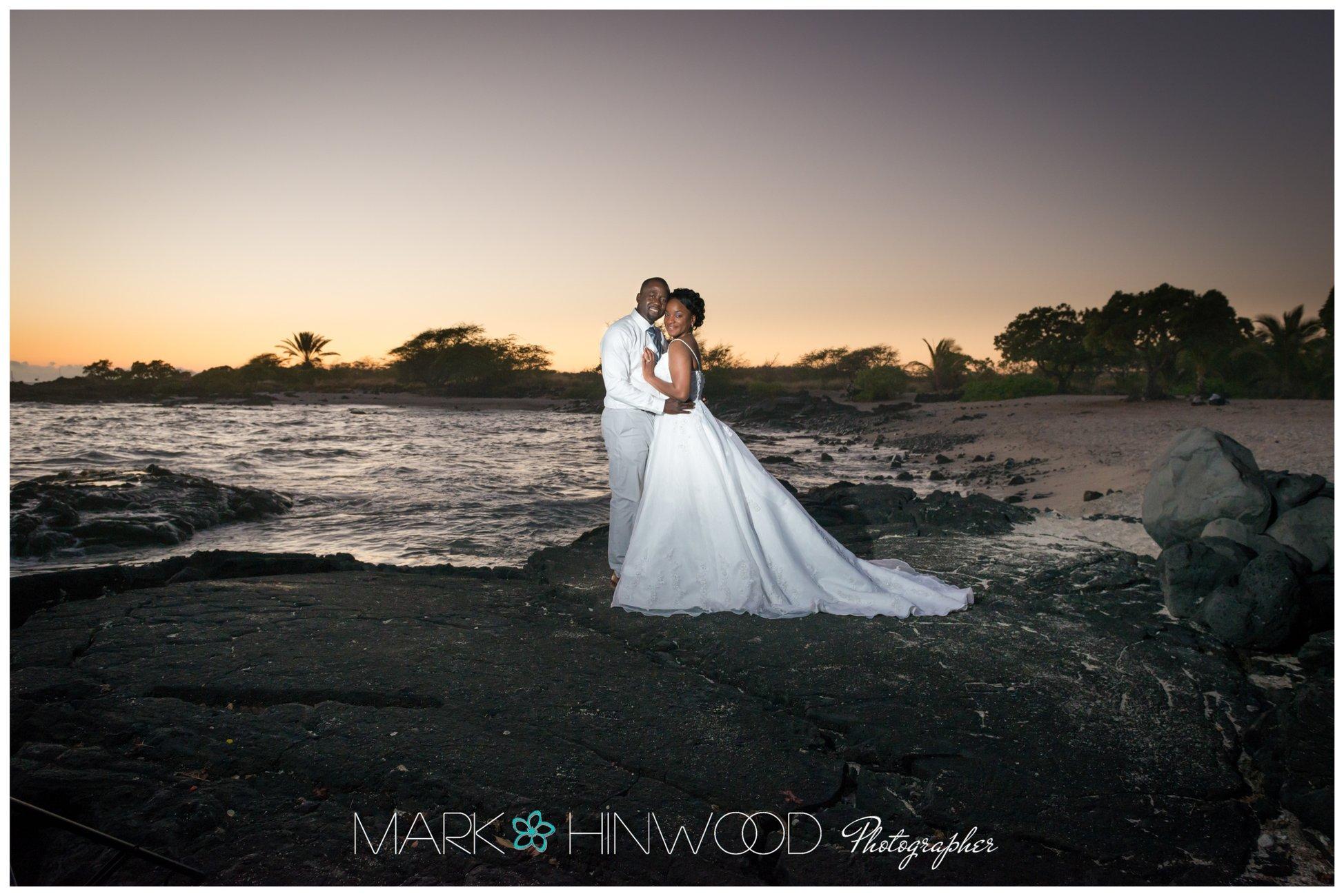 kona beach weddings 15