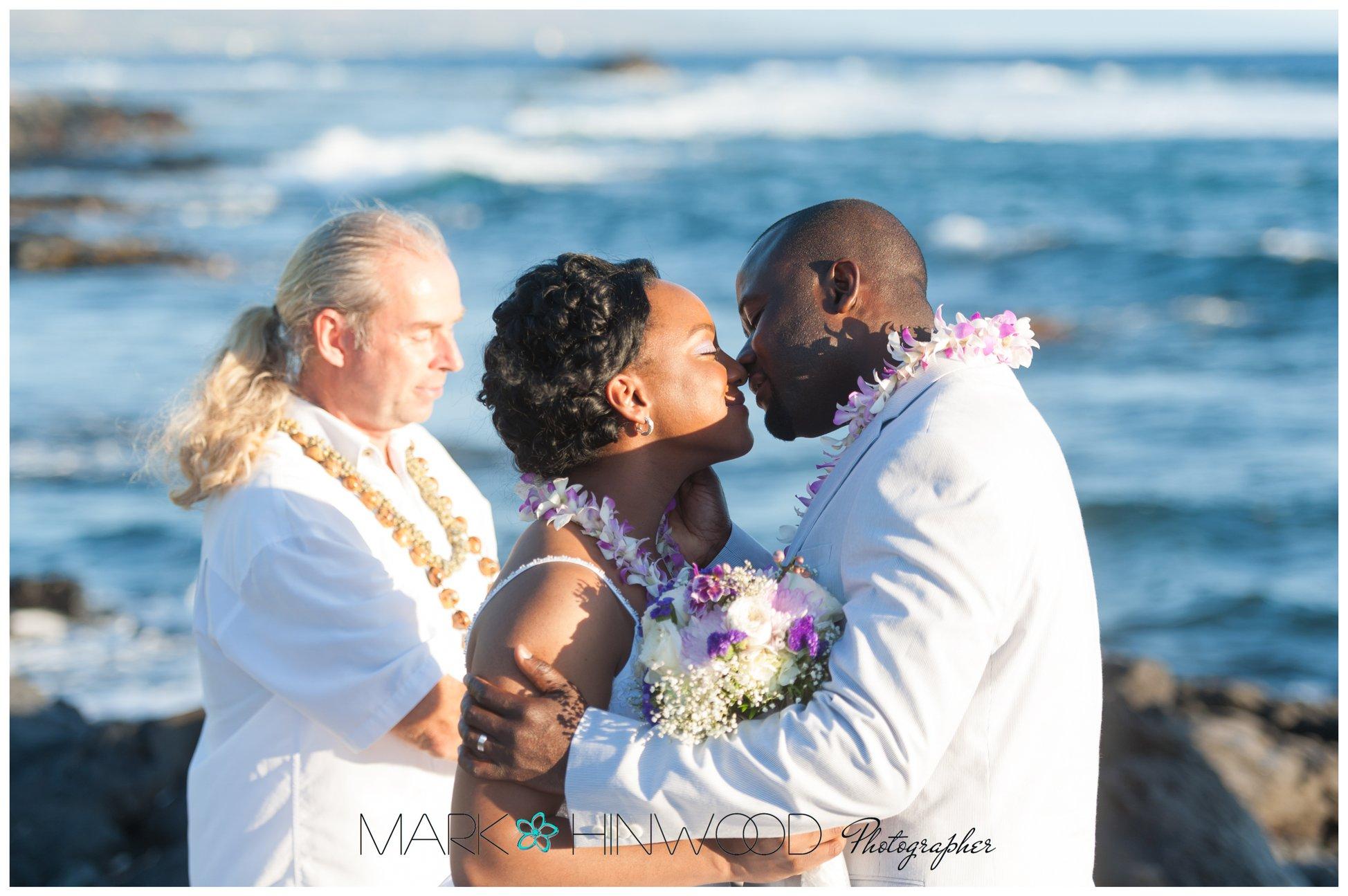 simple kona beach weddings 8