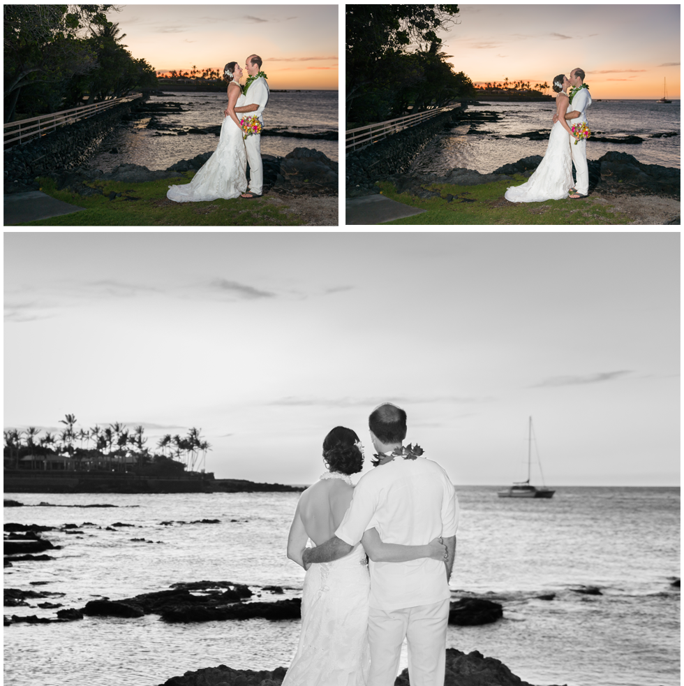beautiful hawaii kona weddings