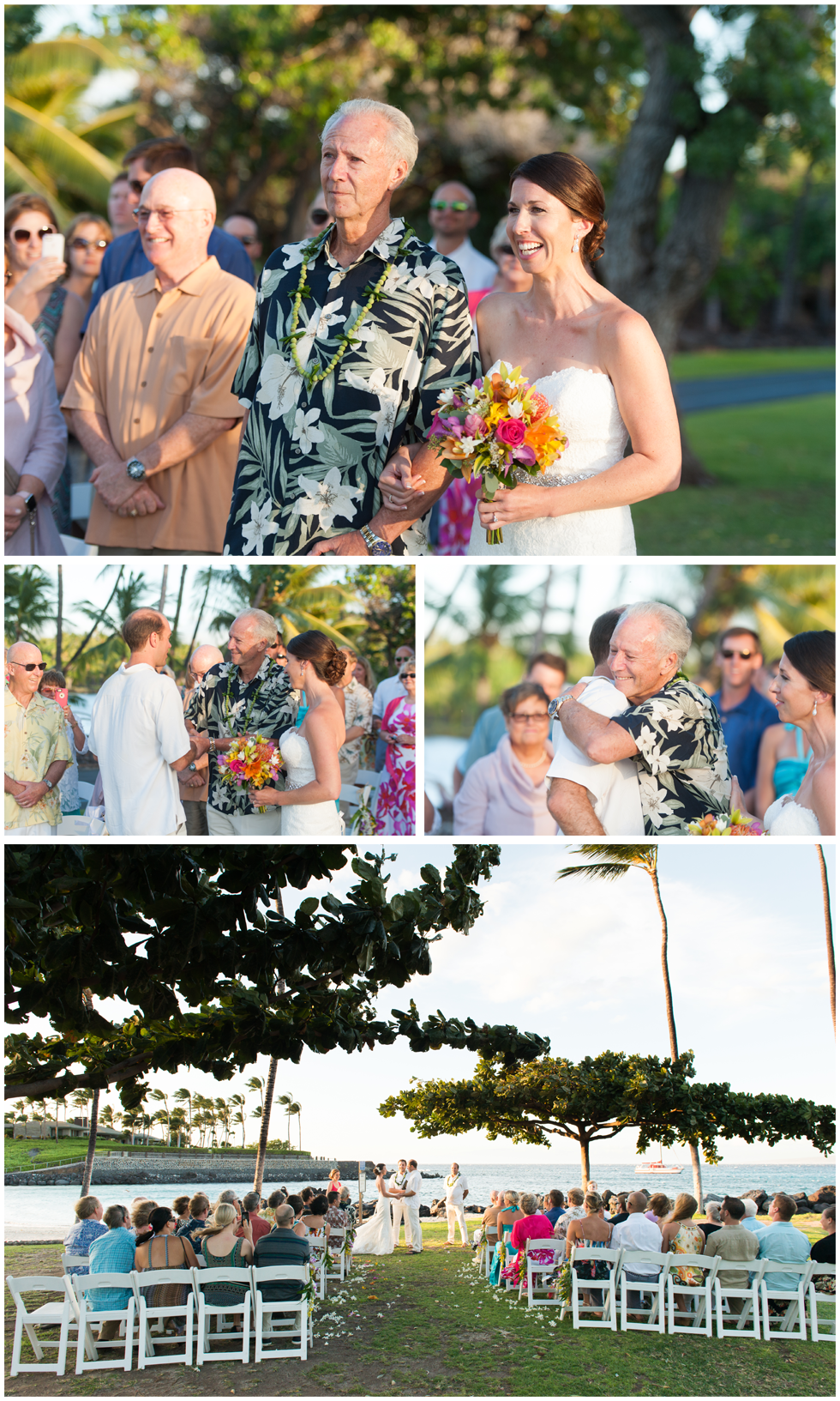 hawaii sunset weddings