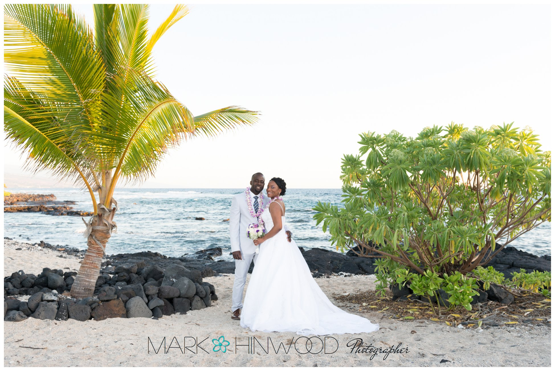 simple kona beach weddings 20