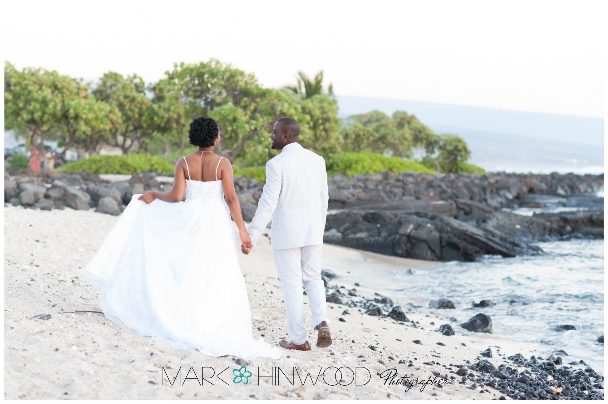 Kona beach weddings 9