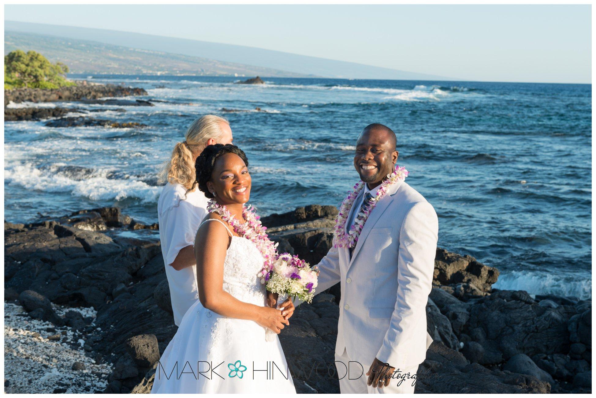 simple kona beach weddings 9