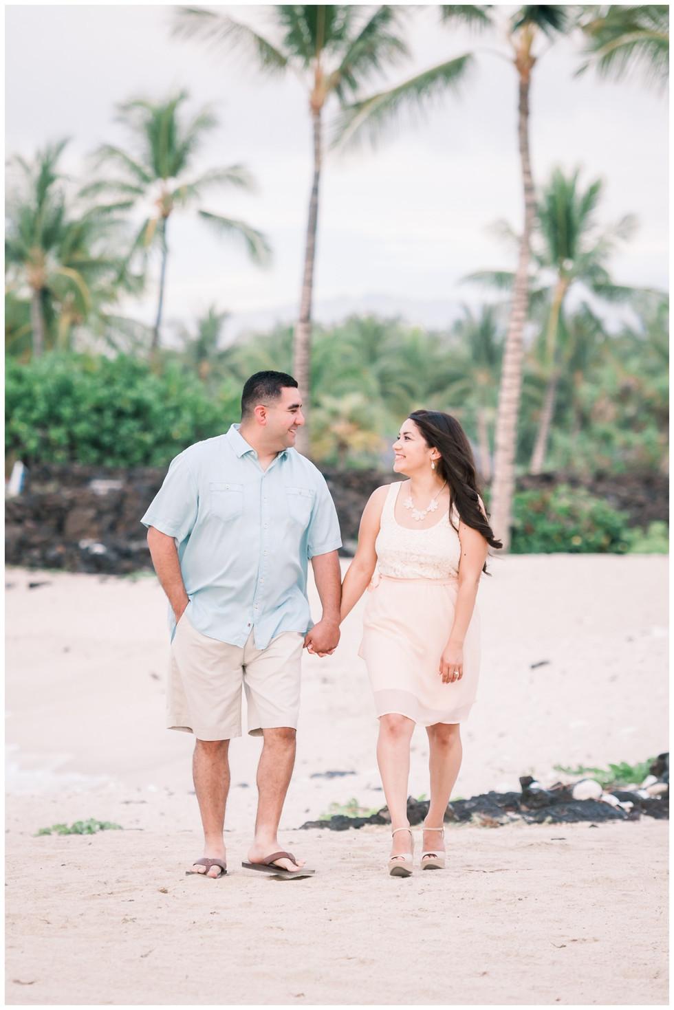 Big Island Hawaii Engagement Photographe