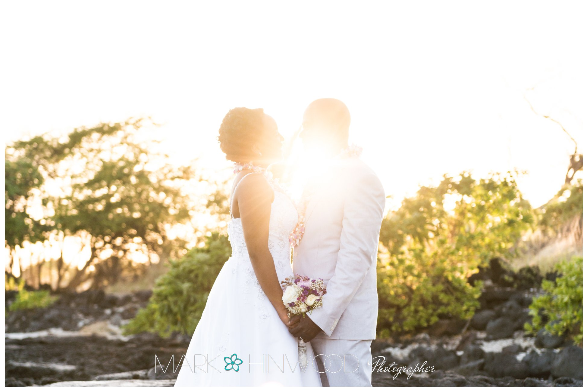 simple kona beach weddings 16
