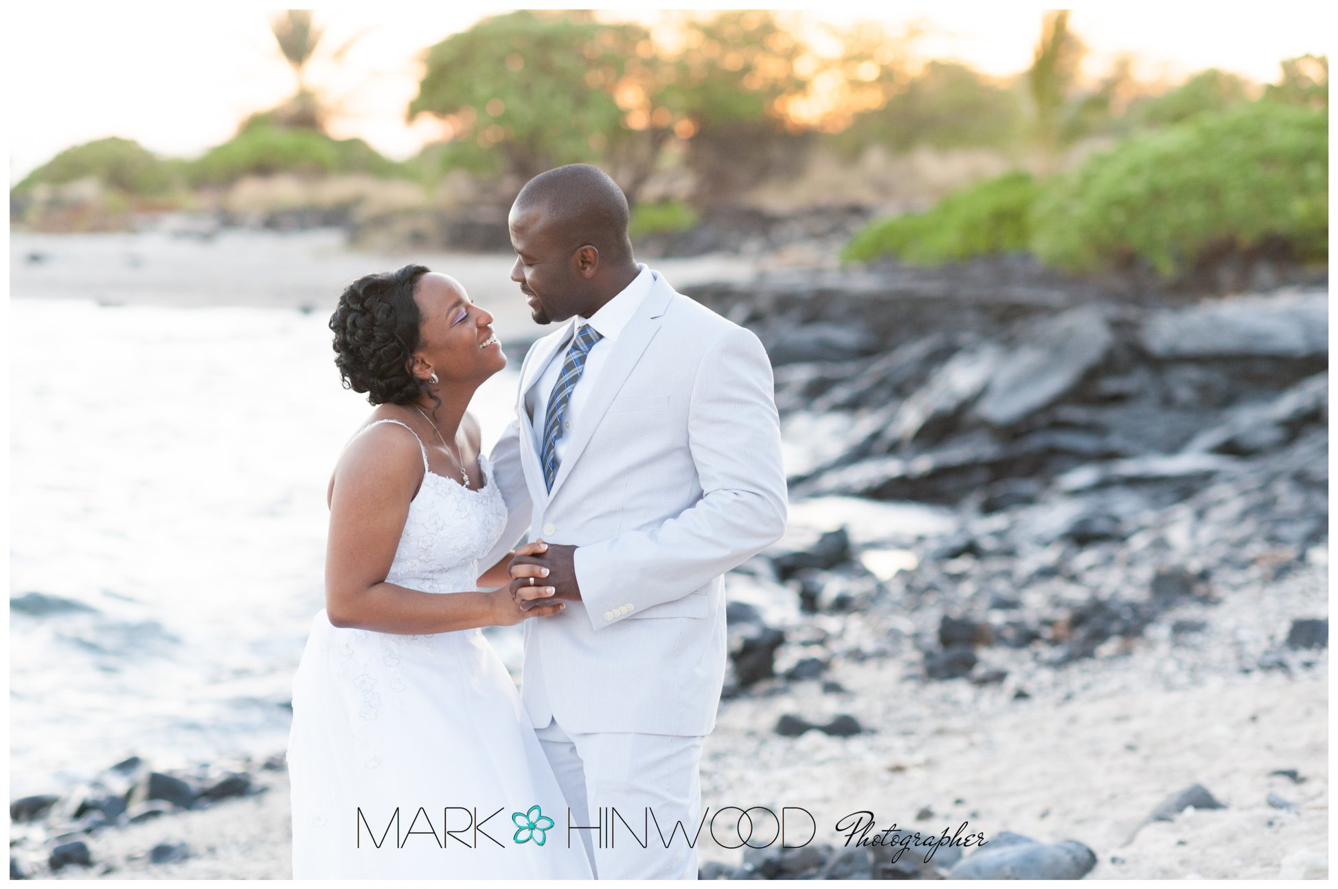 Kona beach weddings 8