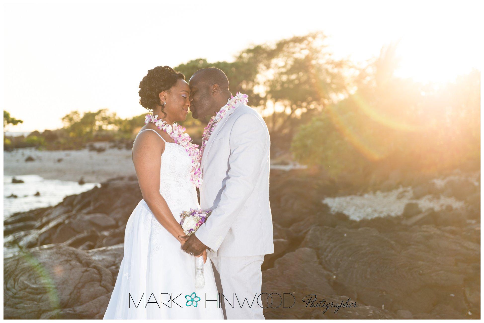 simple kona beach weddings 15