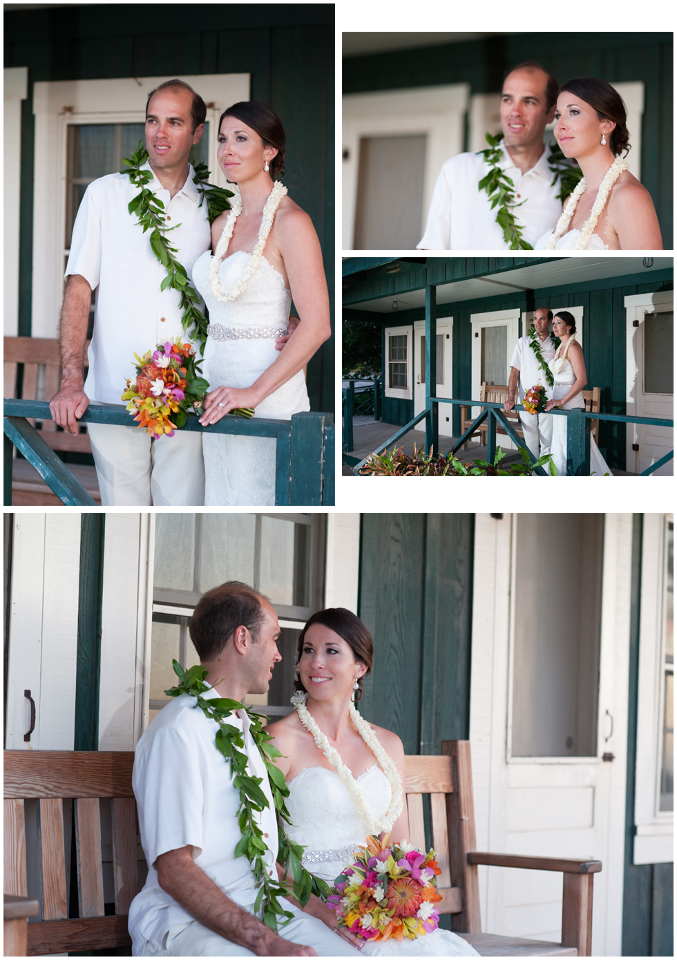 mauna lani cottage wedding