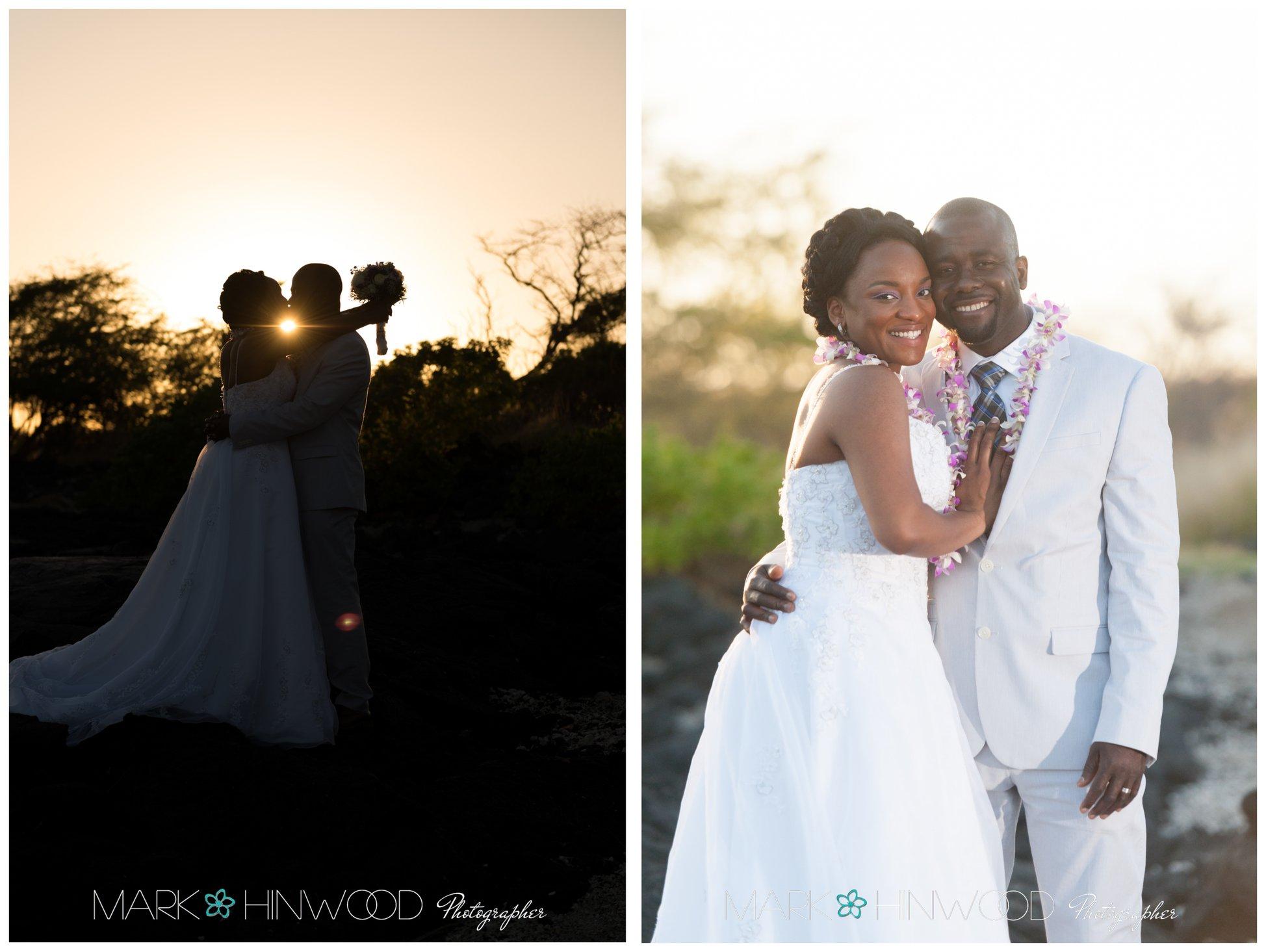 simple kona beach weddings 17