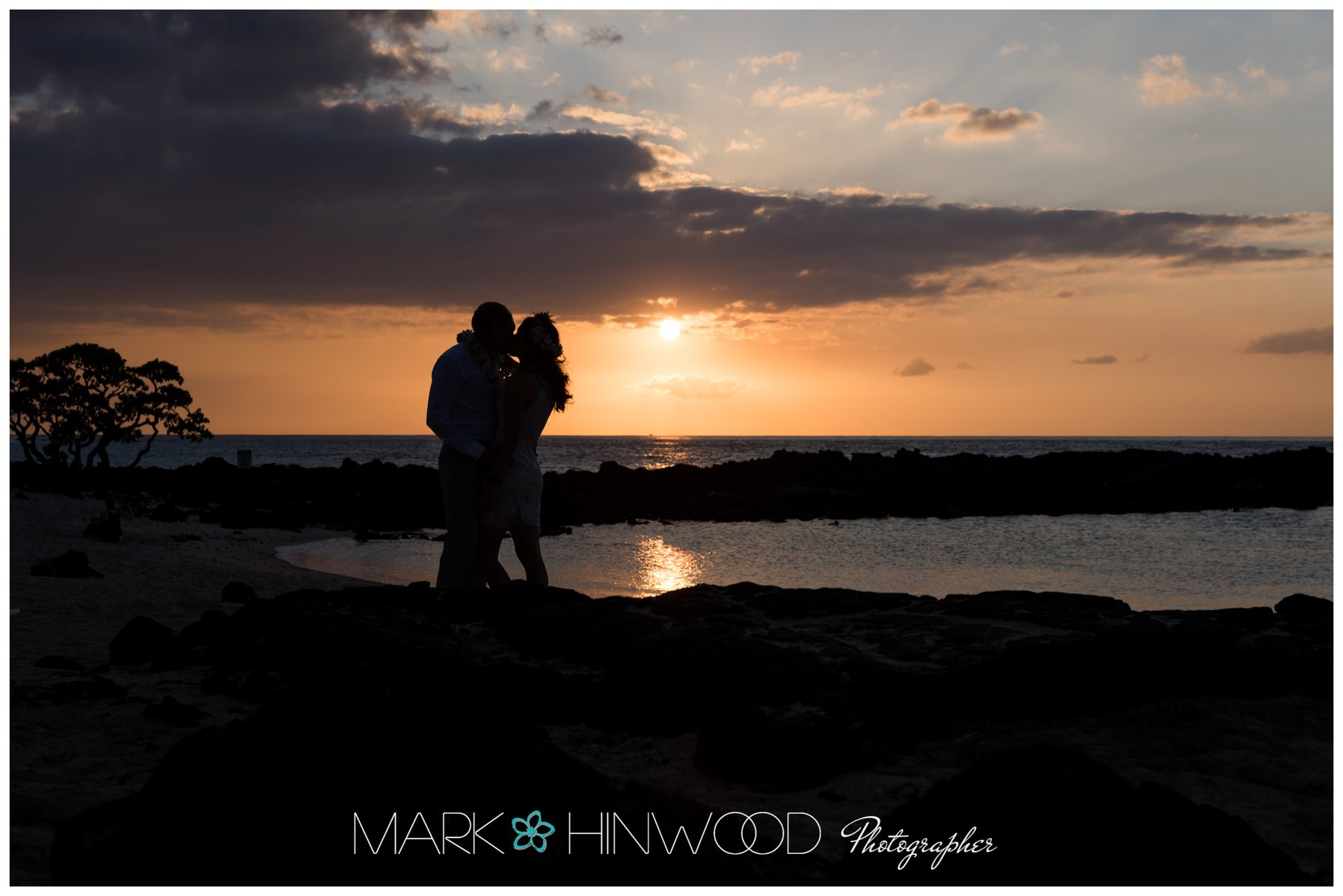 Simple Kona beach weddings 8-2