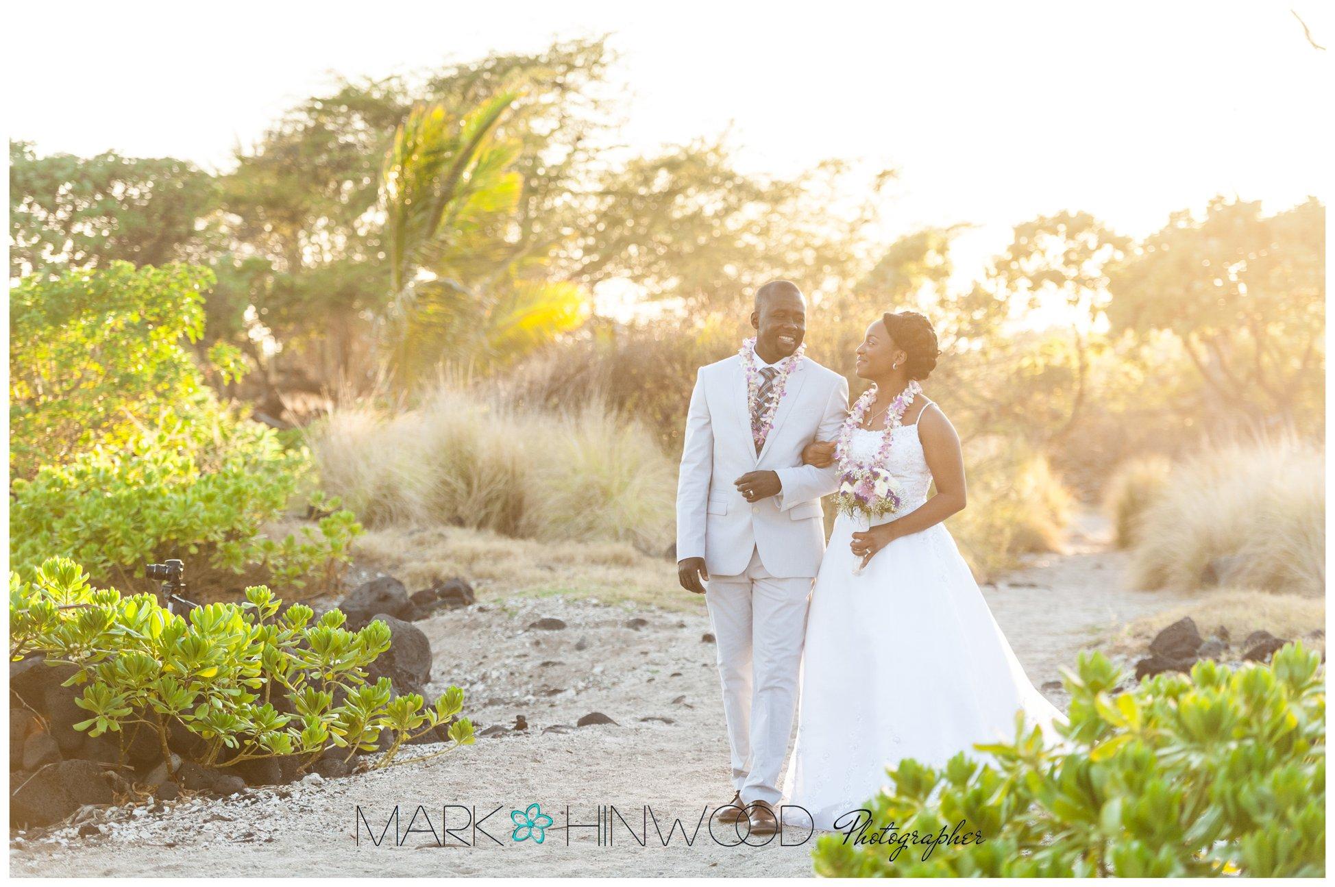 simple kona beach weddings 13