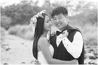 Engagement photographers Big Island Hawa