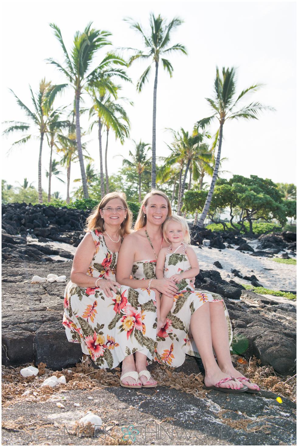 Family photography Waikoloa