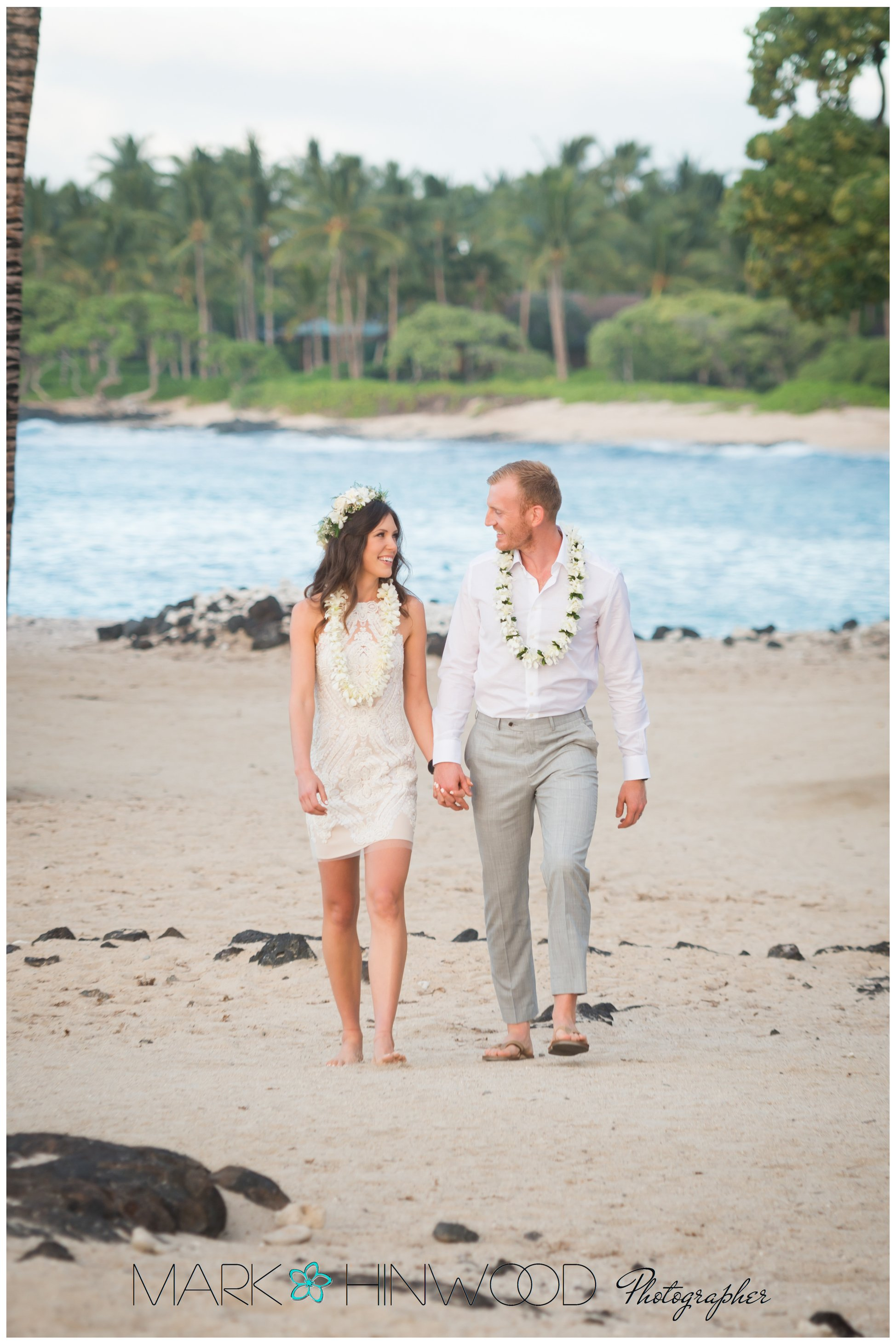 Simple Kona beach weddings 6a