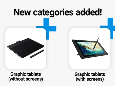 Graphic tablets - now in Crrowd! 🎨
