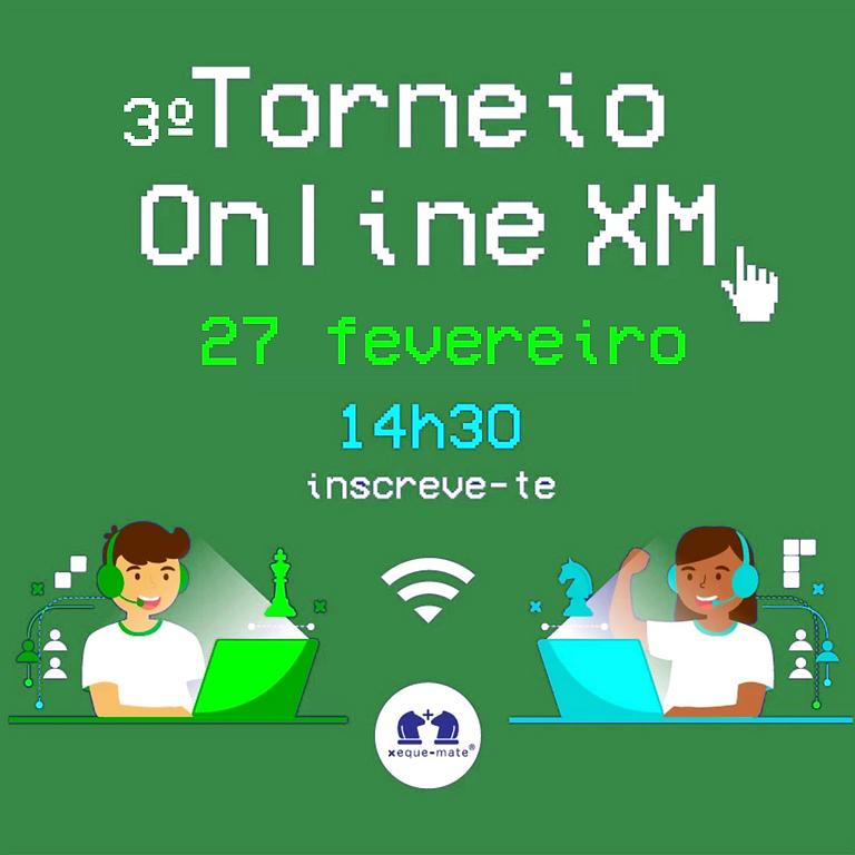 3º Torneio Online XM
