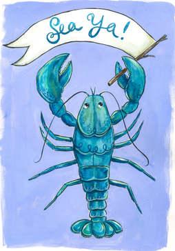 Teal Lobster