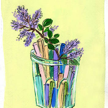 Pastels and Lilacs