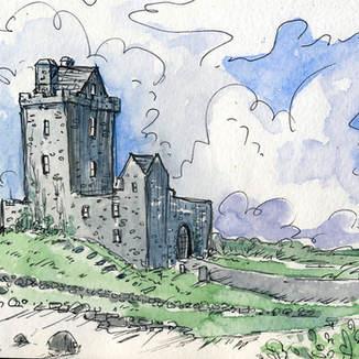 Danguire Castle, Ireland