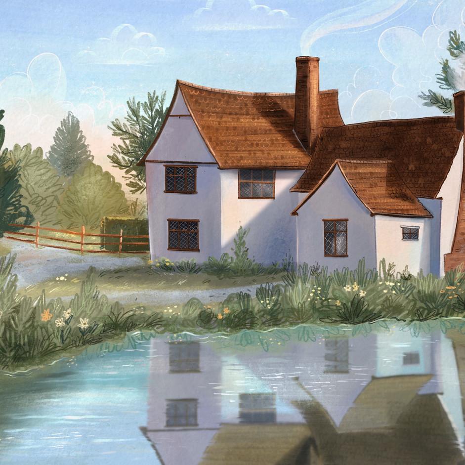 Flatford Cottage