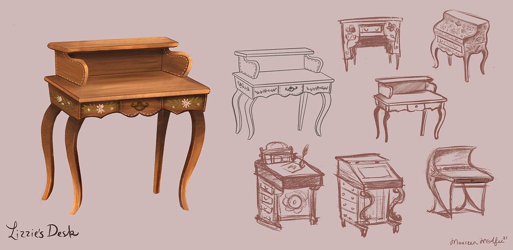 Lizzie's Desk