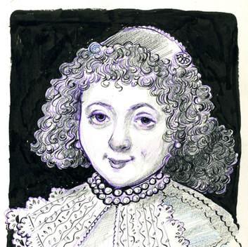 Rembrandt Lady