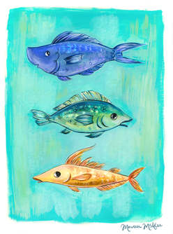 Various Multiple Fish