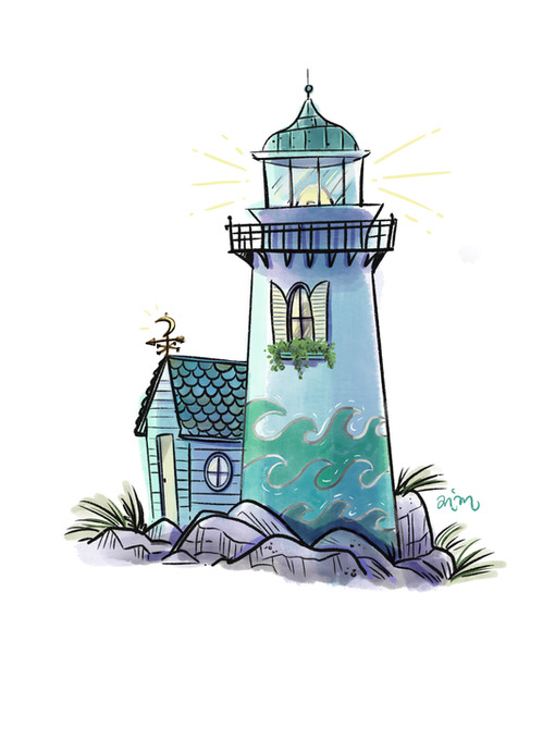 Lighthouse Doodle